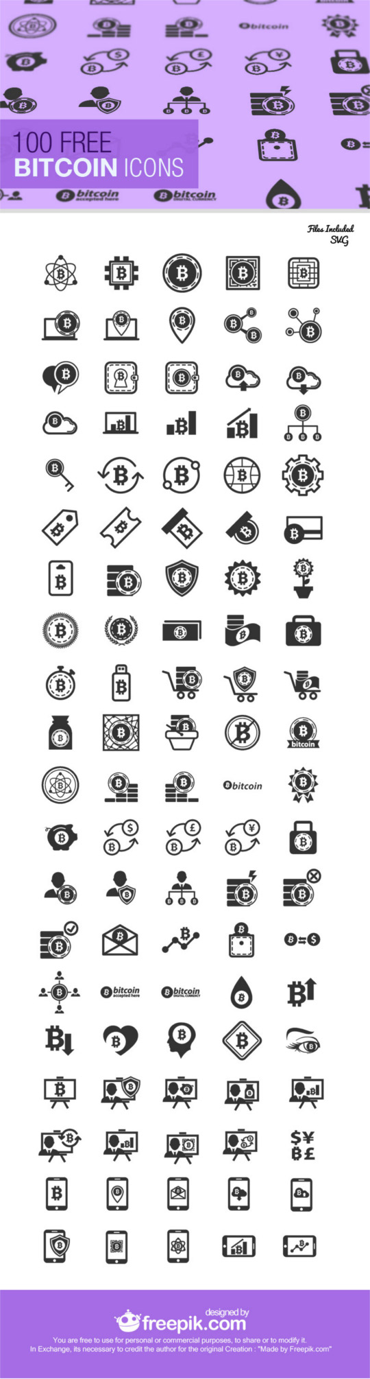 Free Bitcoin Graphic Pack Download