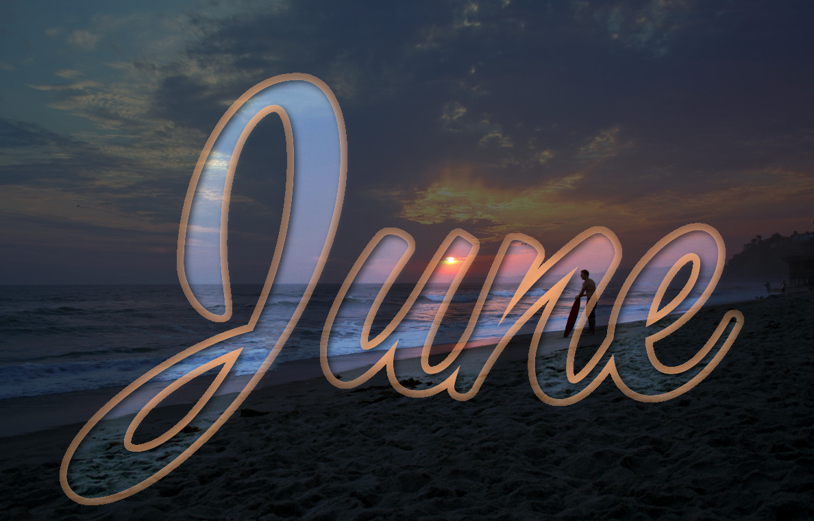 welcome june summer arrives.